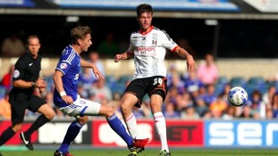 Elliott Hewitt featured in Ipswich Town's opening day win over Fulham.