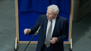 Sir David Attenborough opens Bristol University's new Life Sciences building