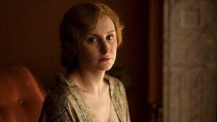 Laura Carmichael as Lady Edith.