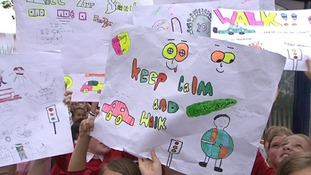 Children's speed awareness banners