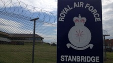 Sign at RAF Stanbridge