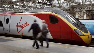 The Virgin train line back up and running after delays