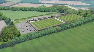 Plans for a new 3,000 seater stadium have been given the go-ahead by the government.