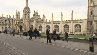 James can still wander around Cambridge unnoticed.