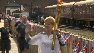 Torch at Railway Museum
