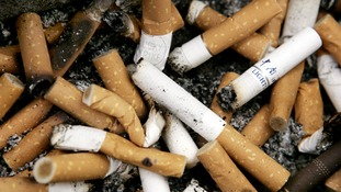 Cigarette butt litterbugs given option to pay up or quit