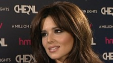 Cheryl Cole CD signing