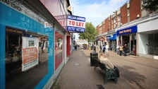 The number of shops closing on the high street rose sharply in the first half of the year