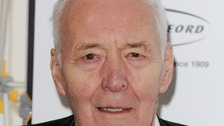 A picture of Tony Benn