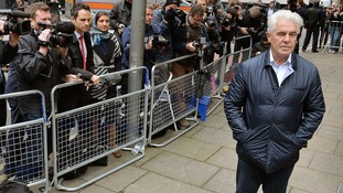 Max Clifford arriving at court in May.