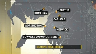 Torch map 21 June