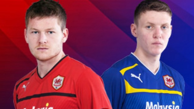 Cardiff City red strip