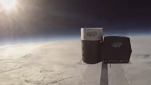 Fast food firm sends burger and chips into space