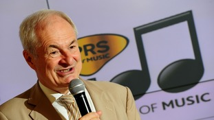 Paul Gambaccini announcing this year's Ivor Novello Award nominees.