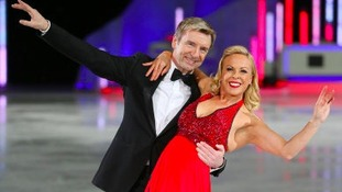 Torvill and Dean during a 'Dancing on Ice' event