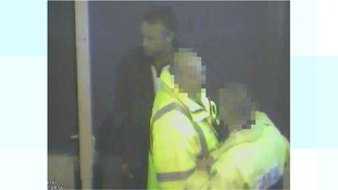 Police want to speak to this man in connection to a hate crime incident at a Bristol Rovers match.