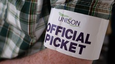 NHS care workers will go on strike across the south west on Monday.
