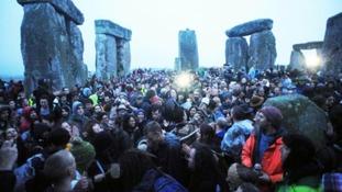 Stonehenge this morning