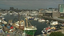 The man drowned in Sutton Harbour, Plymouth