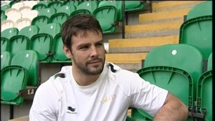 Northampton Saints & England rugby player Ben Foden