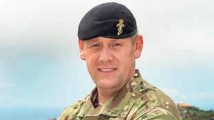 Sergeant Neil Wold has deployed to Sierra Leone
