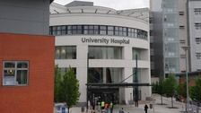 The robot is to be revealed at Coventry's University Hospital