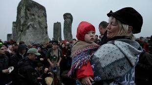 Stonehenge baby