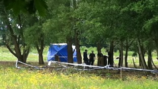 Police dig in parkland close to Coventry