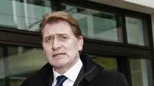 Eric Joyce MP outside Westminster Magistrates Court on Friday