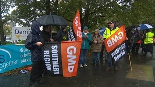 Thousands of hospital workers go on strike