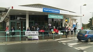 Strikes continue across the west country