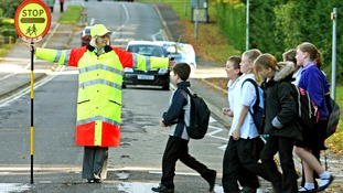 Safety campaigns warns drivers to keep a look out for lollipop people