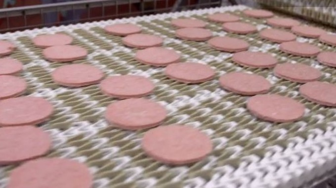 When did mcdonald's start using pink slime?