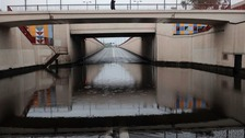 Perry Barr underpass flooded