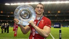 Sam Warburton with the Triple Crown