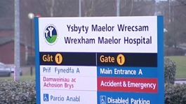 Wrexham Maelor sign