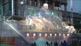 The unveiling of 'The Voyage' featuring 140 artistes