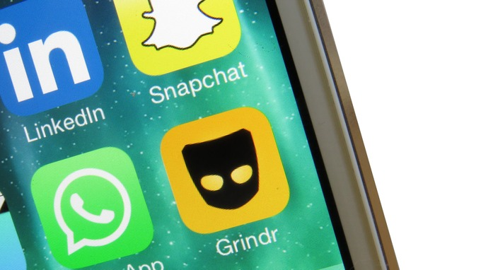 Apps like Snapchat and WhatsApp allow easy sharing of photos between users.