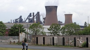 Tata Steel Plant, Scunthorpe, as Tata Steel announced that they are planning to sell its Long Products division.