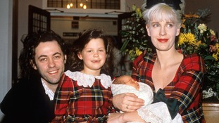 Bob Geldof said he had turned to music following the deaths of his ex-wife Paula Yates and second daughter Peaches.