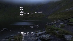 Music video for song called Weightless by Marconi Union