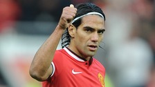 Radamel Falcao joined United on loan from Monaco earlier this year.