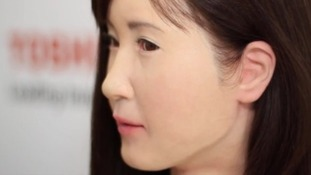 Tech giant unveils human-like 'communication android'