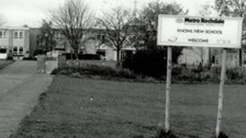 An archive picture of Knowl View school.