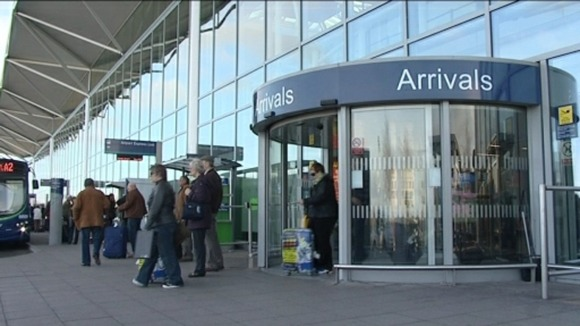 Bristol airport entrance