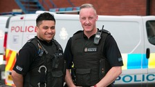 Pc Adnan Ali and Pc Peter Goulding.