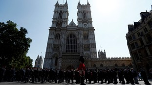 The service will be held at Westminster Abbey later