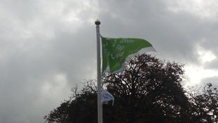 The Green Flag is the benchmark for a quality green space and is managed by Keep Scotland Beautiful.
