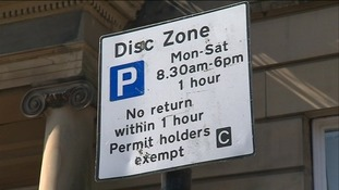 Protests over parking charges