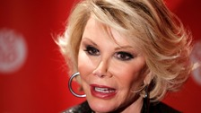 Joan Rivers pictured in 2010.